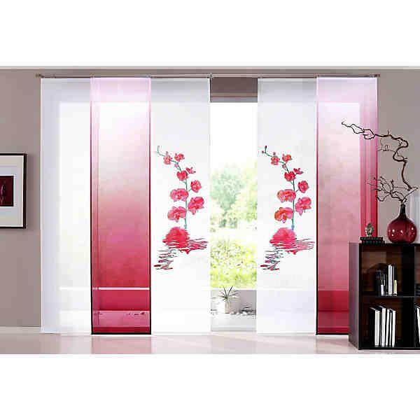 schiebevorhang home wohnideen paraiso 1 st ck ohne zubeh r vorh nge pinterest. Black Bedroom Furniture Sets. Home Design Ideas