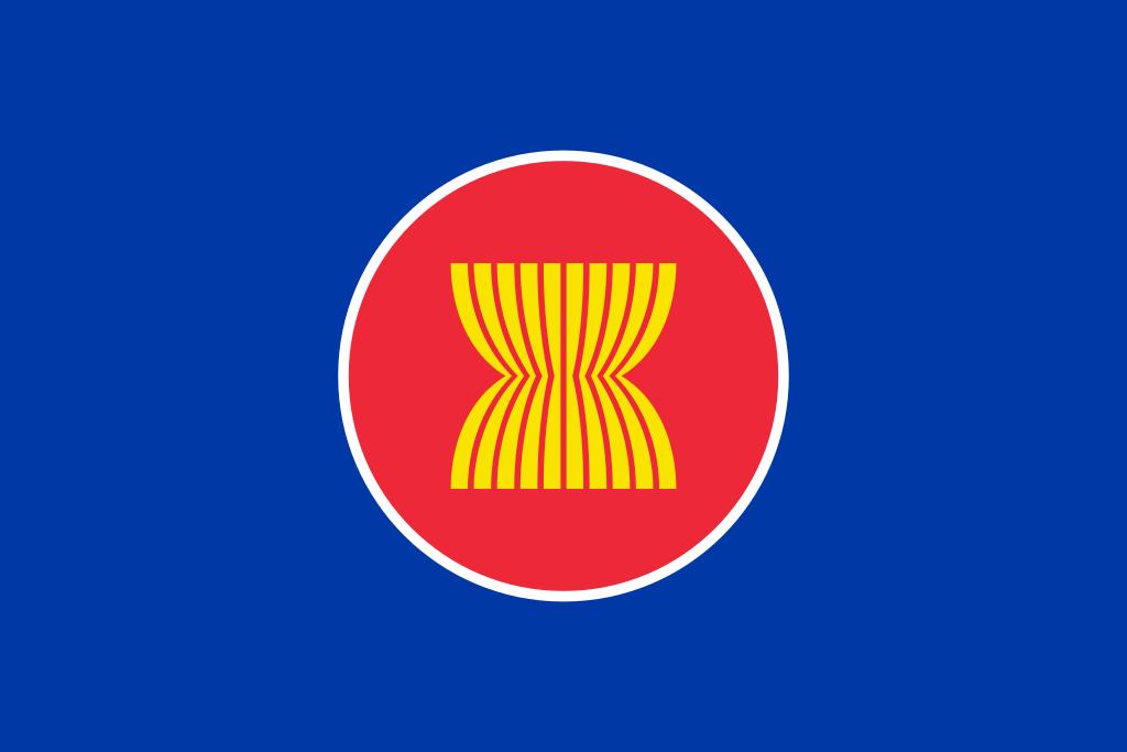Flag Of Asean File Flag Of Asean Svg Wikipedia Bendera Kamboja Geografi