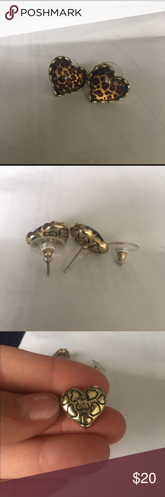 Betsey Johnson Leopard Earrings Betsey Johnson leopard stud earrings. Very lightly worn and in excellent condition. Betsey Johnson Jewelry Earrings