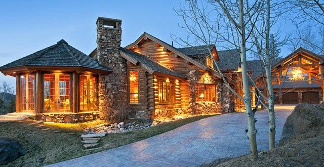 Luxury Log Cabin Luxuryhomes Com Living Luxury Log Cabins Small Log Home Plans Cabin Design