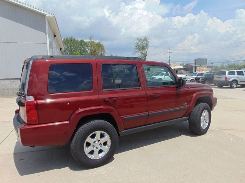 2007 Jeep Commander Sport 4dr SUV 4WD cars usedcars