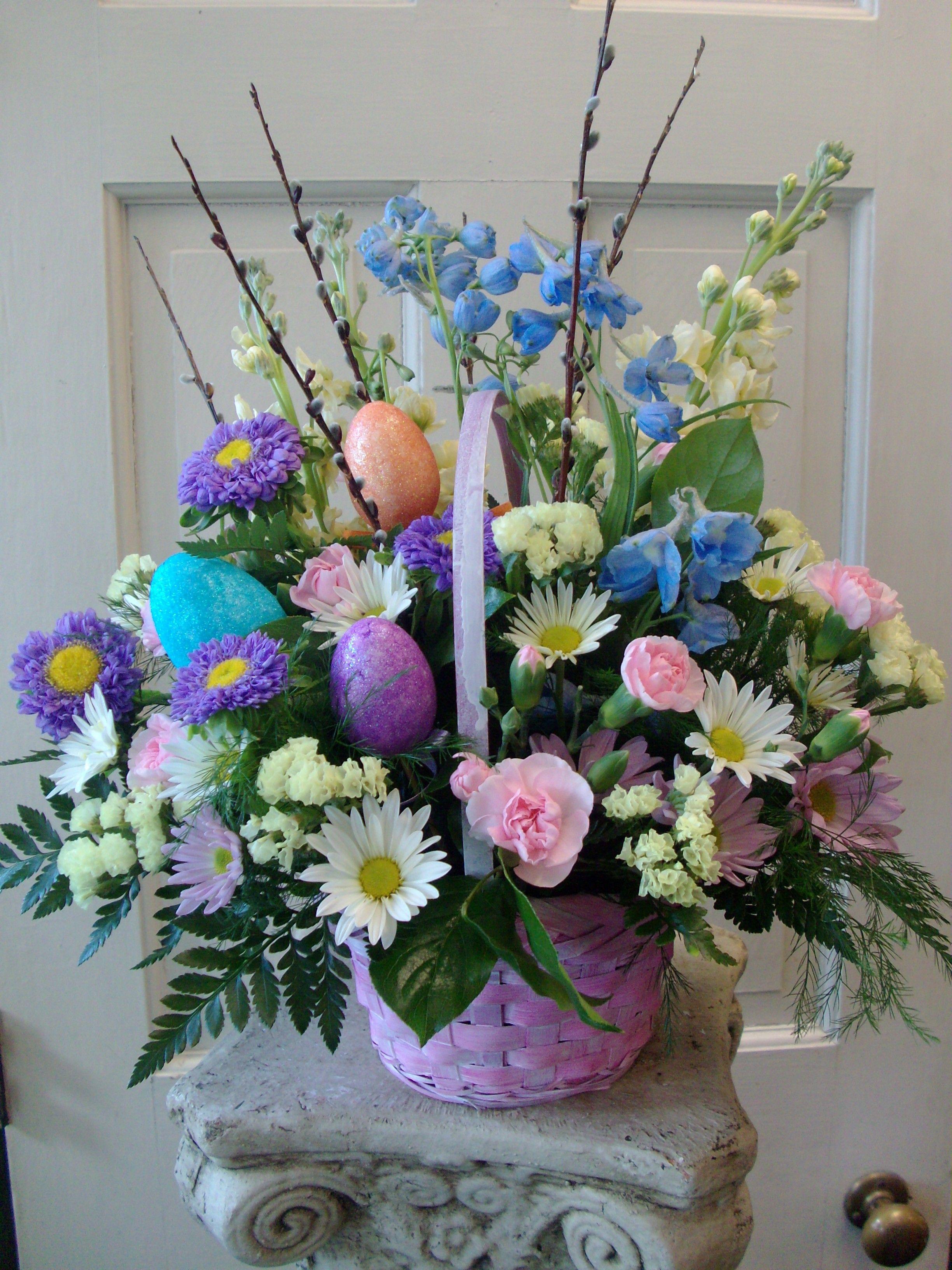 decoration easter tumblr easter floral arrangements on glass vases rh pinterest ca