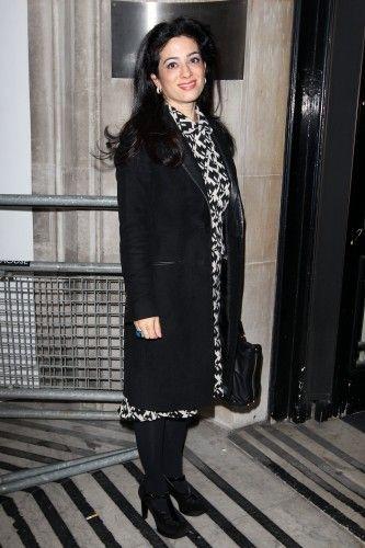 Princess Badiya bint El Hassan at BBC Radio 2 Studios, London, Britain - Jan 28th, 2014
