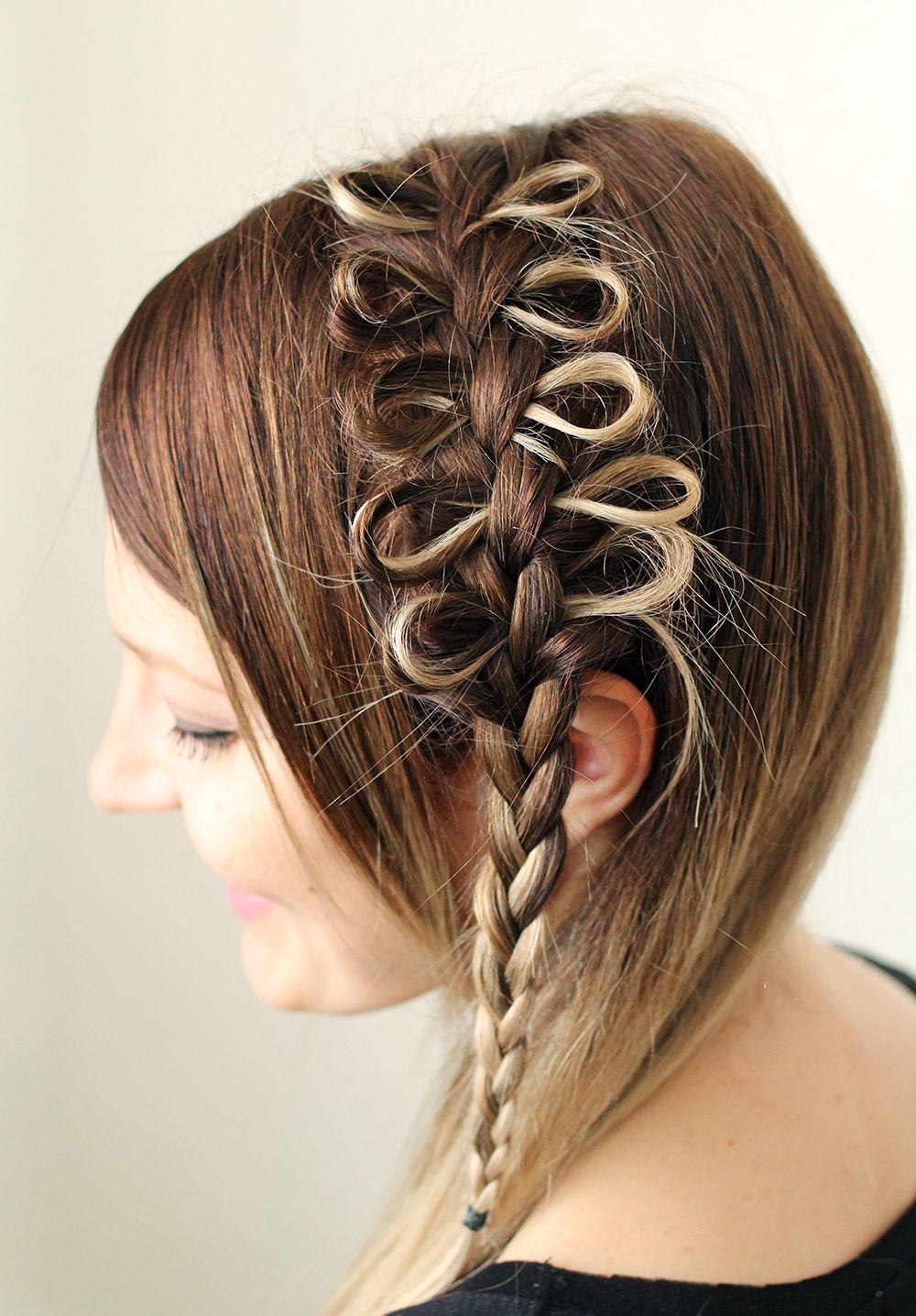 Aweinspiring bow braids bow braid and updos