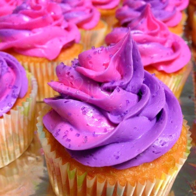 purple amp pink baby shower desserts at www2justbyoucom