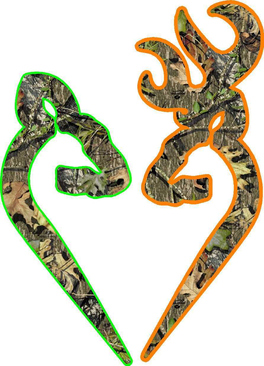 camo browning logo orange and camo browning symbol camo