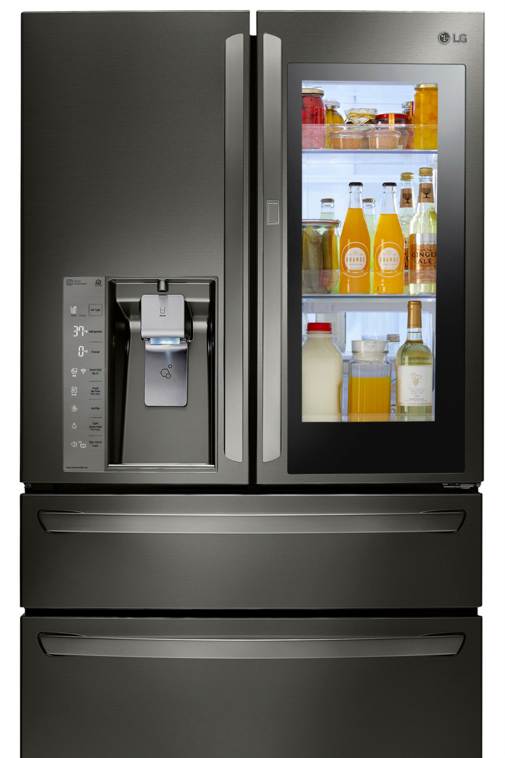 Need A New Fridge Consider The Lg Instaview Refrigerator Door