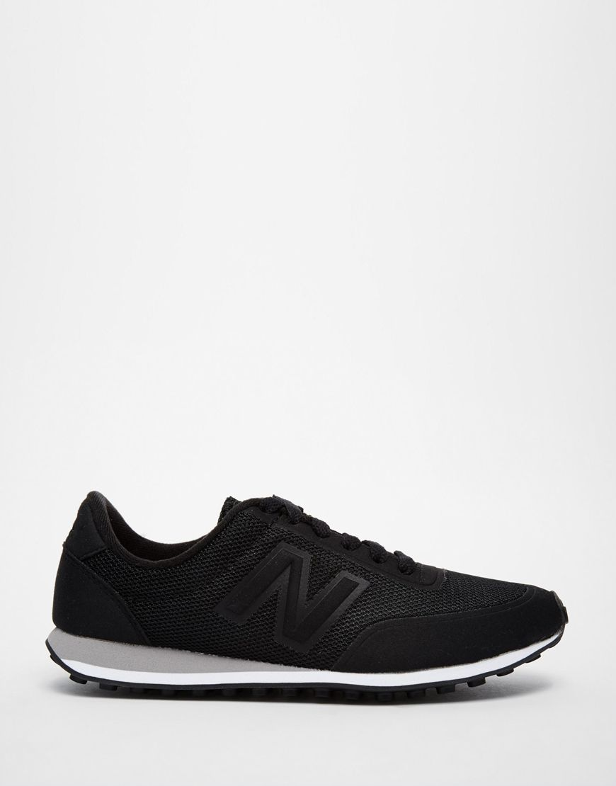 black new balance trainers mens