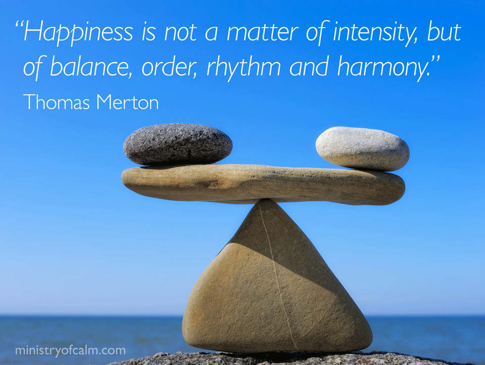 Happiness is not a matter of intensity
