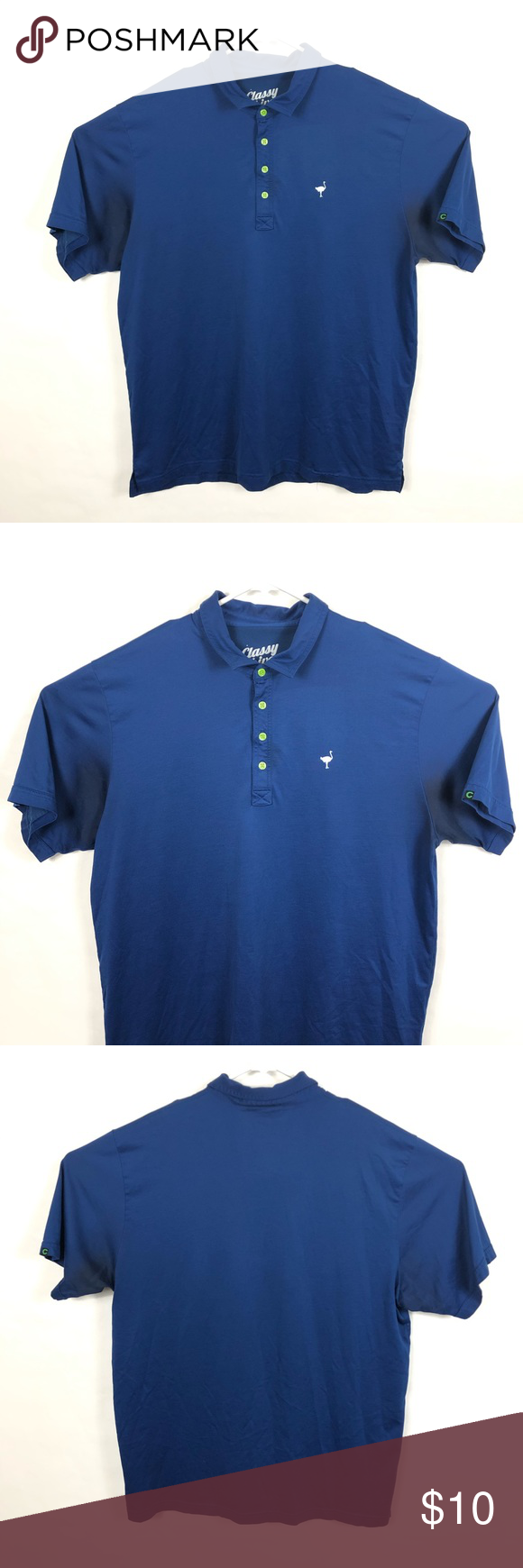 Chiver Classy 2xl Polo Shirt Blue Chiver Classy Blue 2xl Cotton Polyester Blend Polo Shirt Size 2xl 60 Cotton 40 Poly Made In Shirts Blue Shirts Polo Shirt