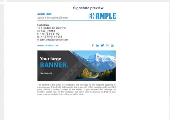 Email signature generator Zeerk Email signature