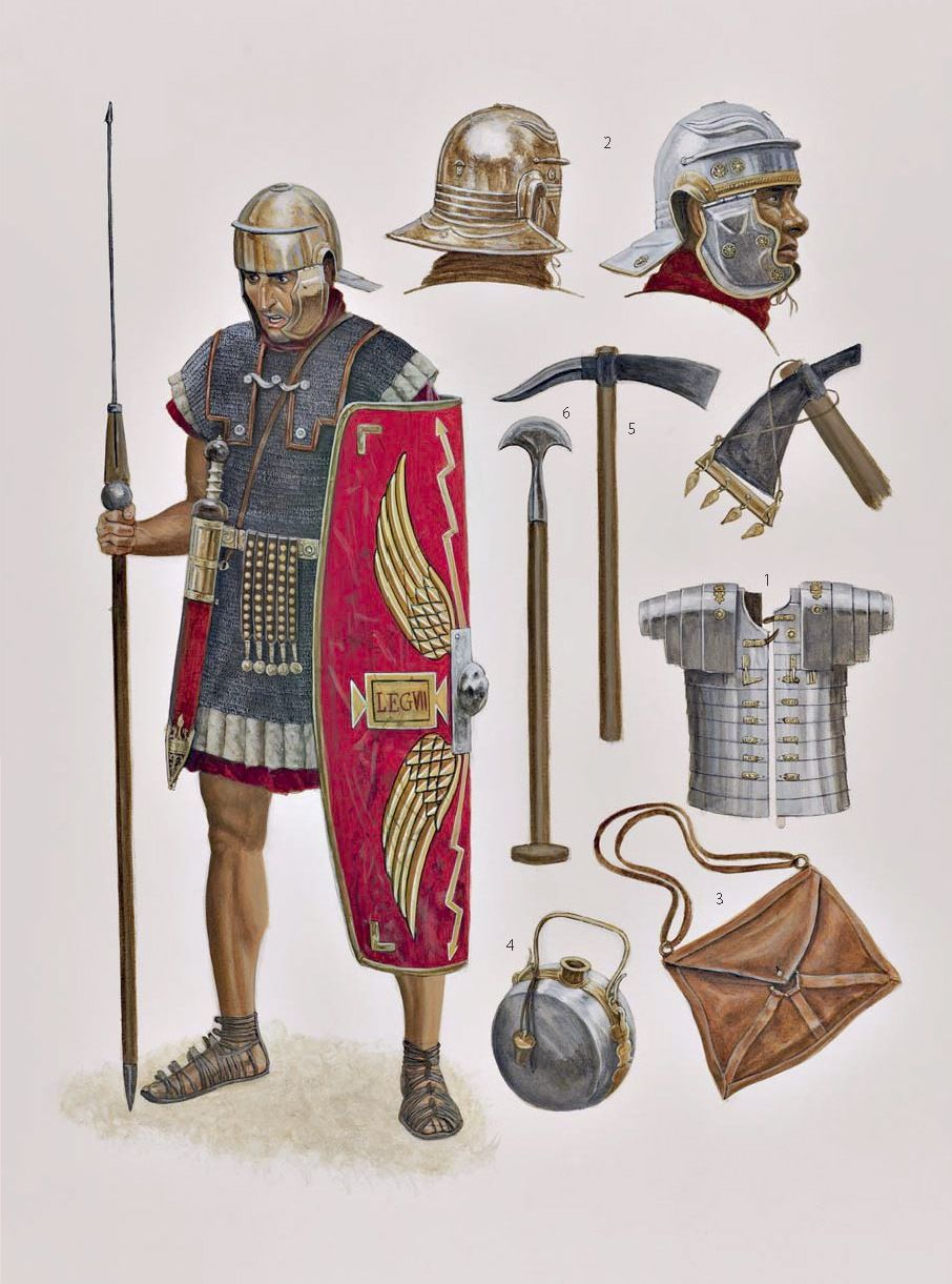Image result for Roman centurion panoply of arms