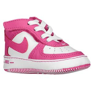 nike air force one crib - girls infant