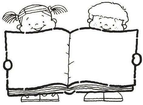 Kitap Okuyan Cocuklar Boyama Sayfalari Kitap Haftasi 3d Kartlari
