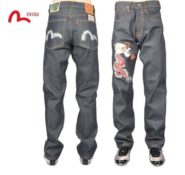 $80.00 $38.00 Save: 53% off Fake Wholesale Evisu Jean 0002 | jeans ...