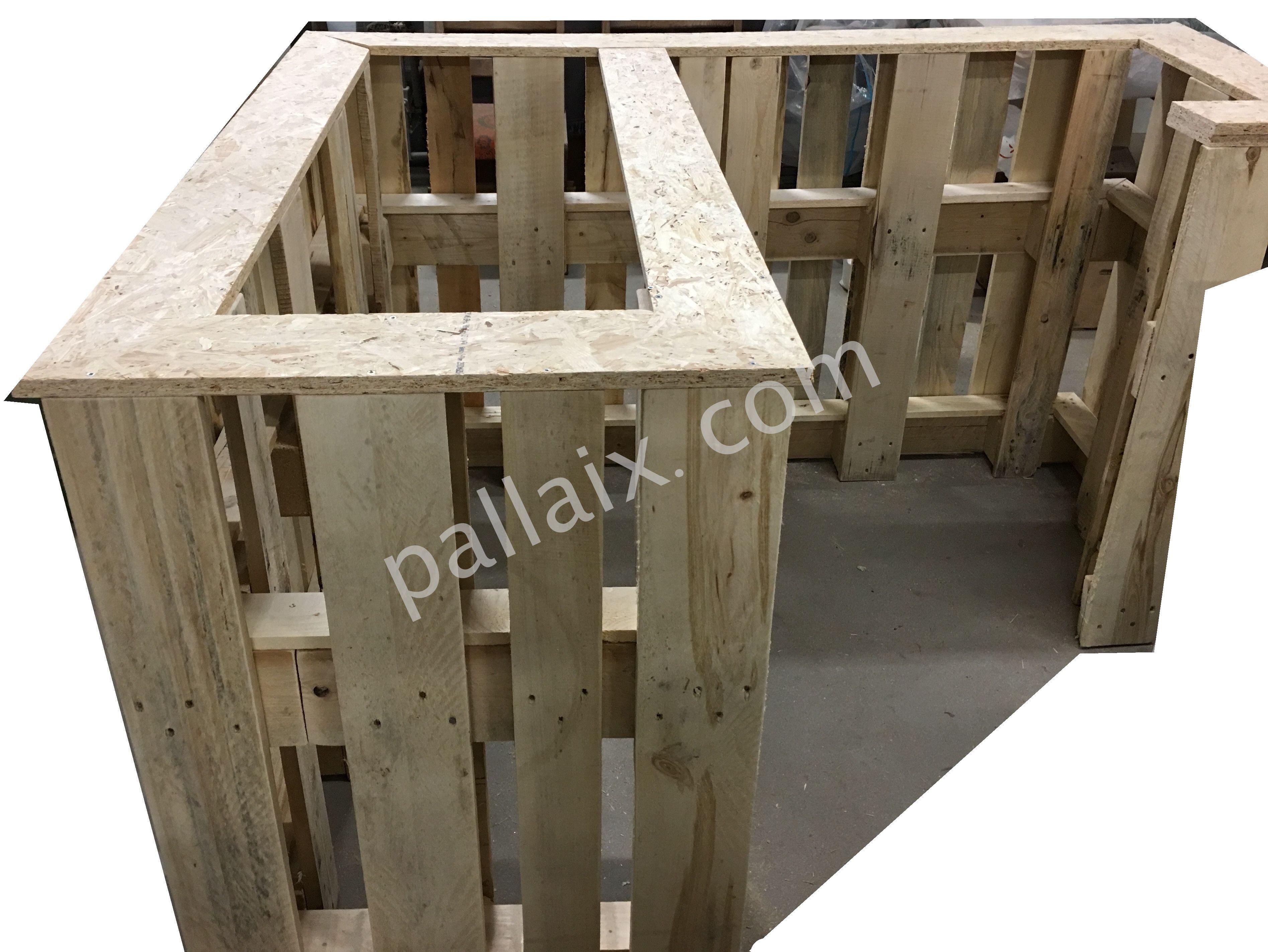grundger st einer theke aus europaletten selbermachen pinterest pallet bar and man cave. Black Bedroom Furniture Sets. Home Design Ideas