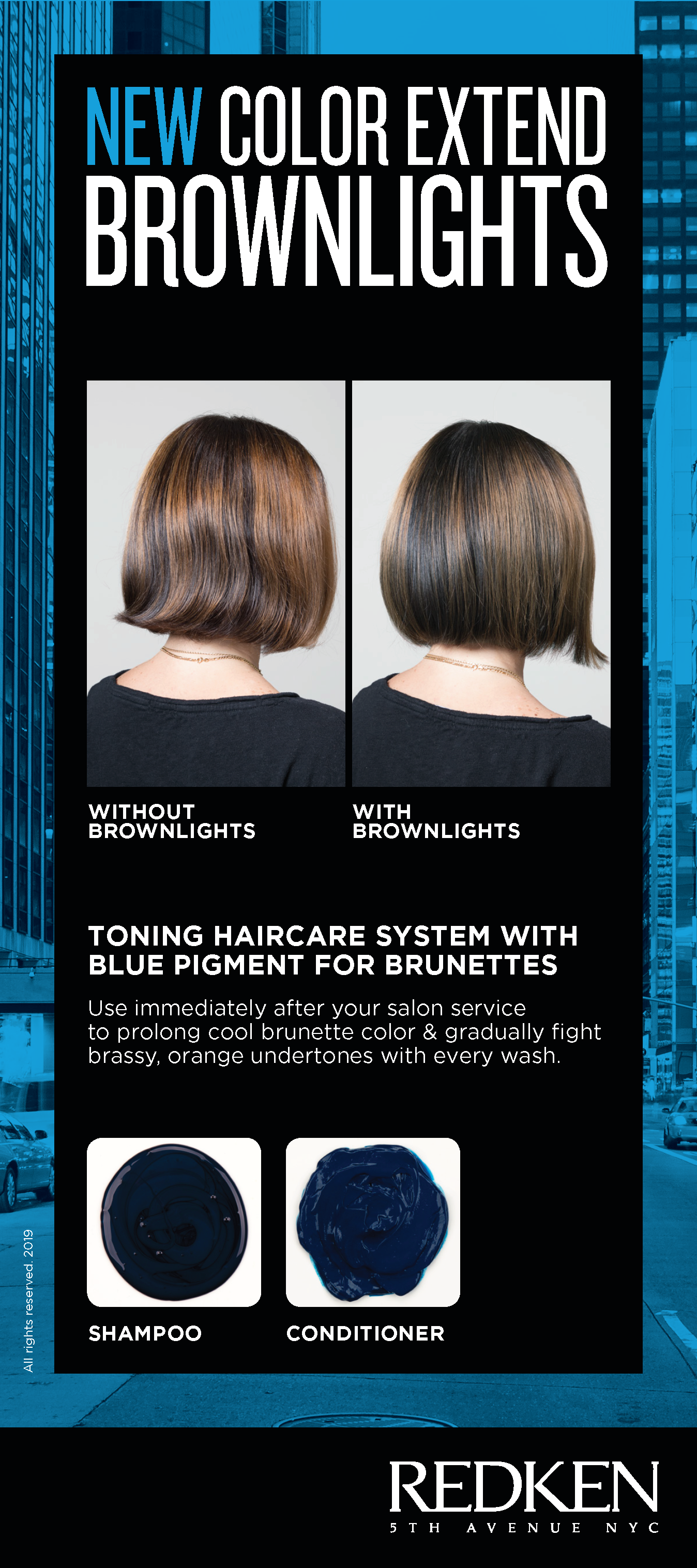Introducing Color Extend Brownlights Toning Shampoo Blue Toning Shampoo Shampoo