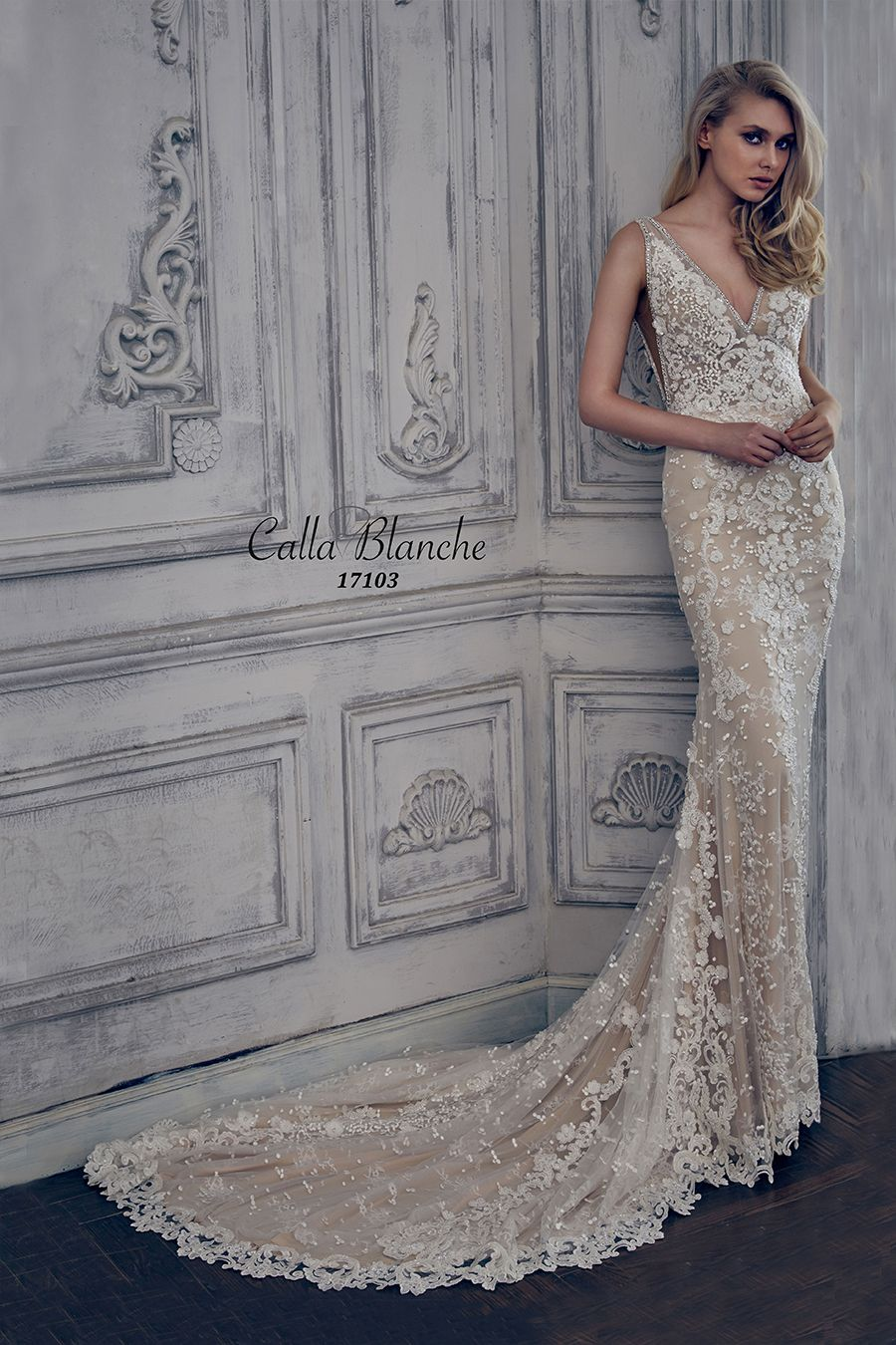 Calla Blanche, Reina, 17103, Sz 6, Ivory/LtNude, $3348. Available at ...