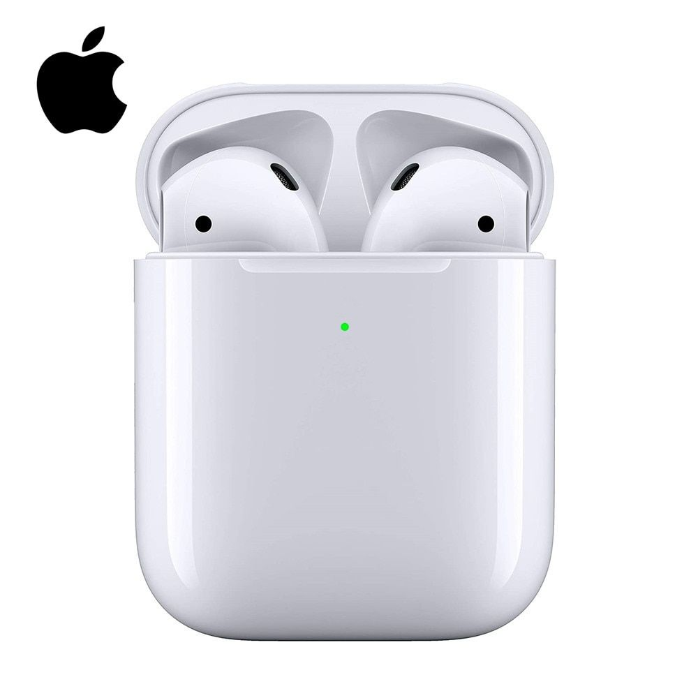 Apple Airpods 2nd With Charging Case Bluetooth Earphone Wireless Bass Earbuds Tones Connect Siri F Bluetooth Headphones Wireless Headphones Bluetooth Earphones