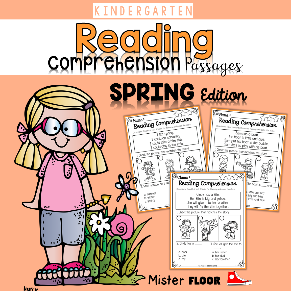 Kindergarten Reading Comprehension Spring