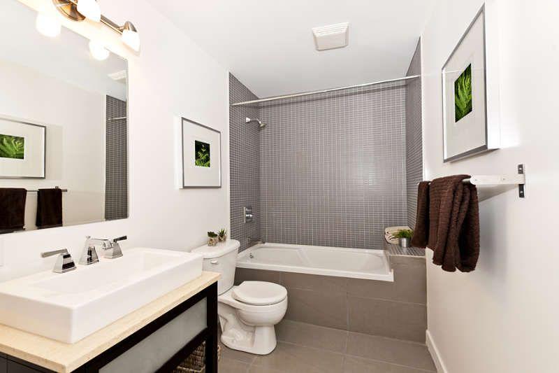 baño decorado baño pequeño moderno color blanco GALO Pinterest