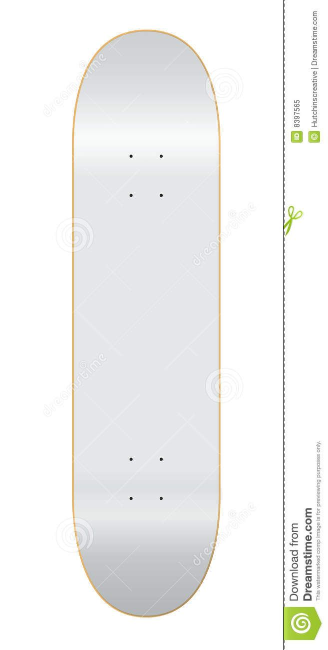 skateboard template invitation templates