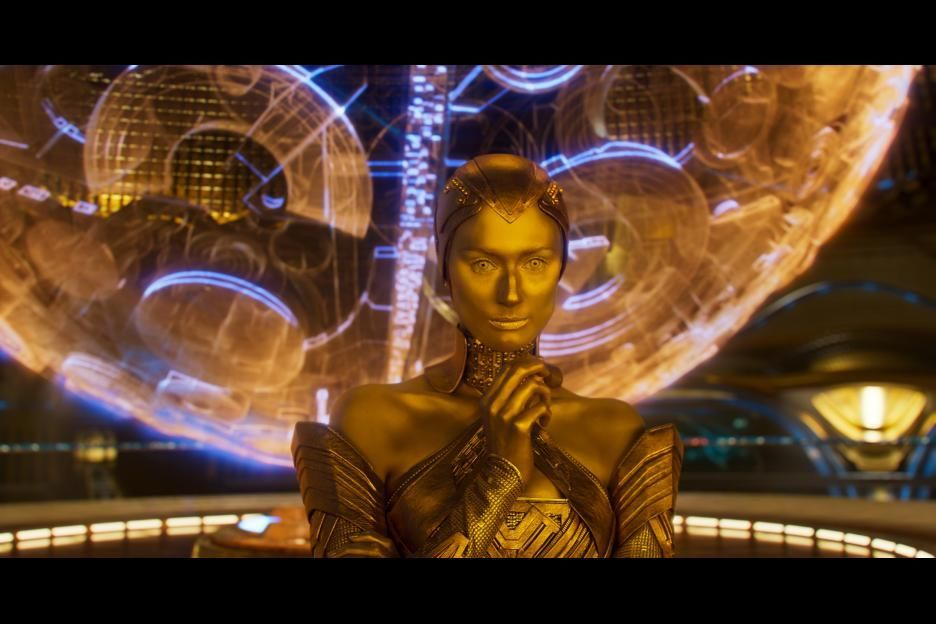 Ayesha In Guardians Of The Galaxy Vol 2 2017 Guardians Of The Galaxy Guardians Of The Galaxy Vol 2 Guardian