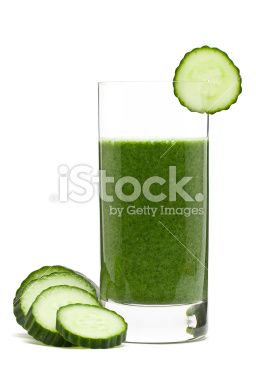 Vegetable smoothie Royalty Free Stock Photo