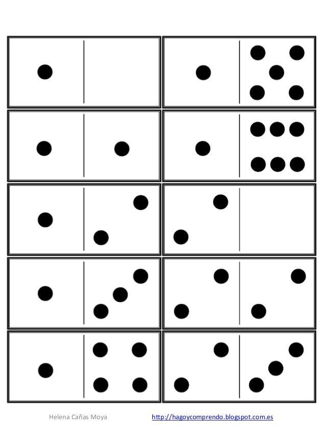 Domino By Hago Y Comprendo Via Slideshare Numeros Juego De