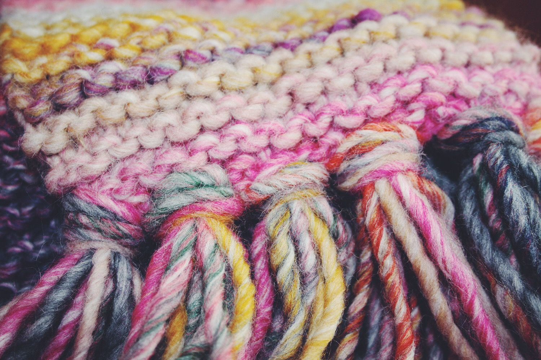 L'écharpe facile (tuto) par Lily Ciboulette www.lilyciboulette.com