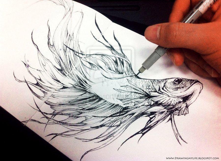 Betta By Yaokhuan On Deviantart Tattoos