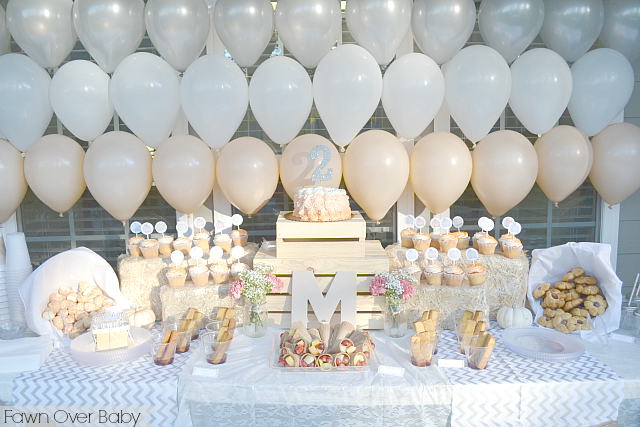 Rooms and Parties We Love this Week Balloon party Backdrops and