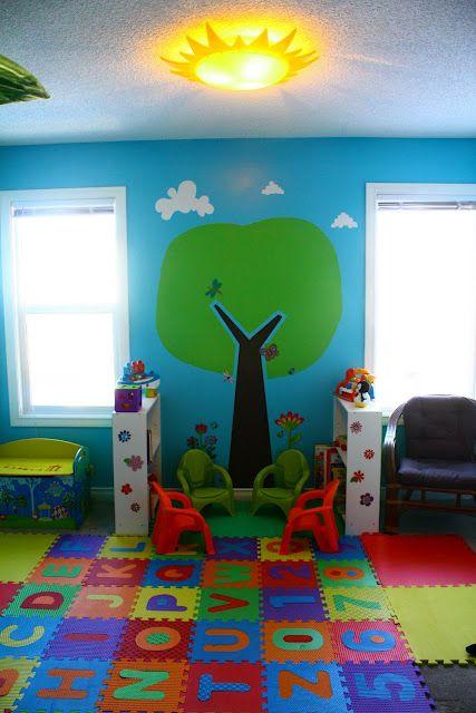 Love The Sunlight Schoolhouse Idea Kids Church Decor Boys Bedroom Themes Kids Daycare