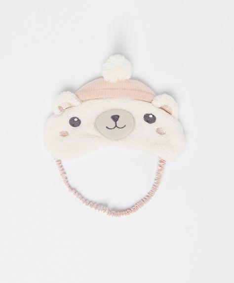 Bear sleeping mask - OYSHO