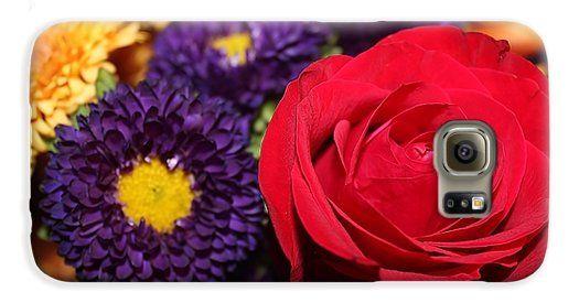Pirani Mobili ~ Red autumn rose galaxy s case by cynthia pirani protect your