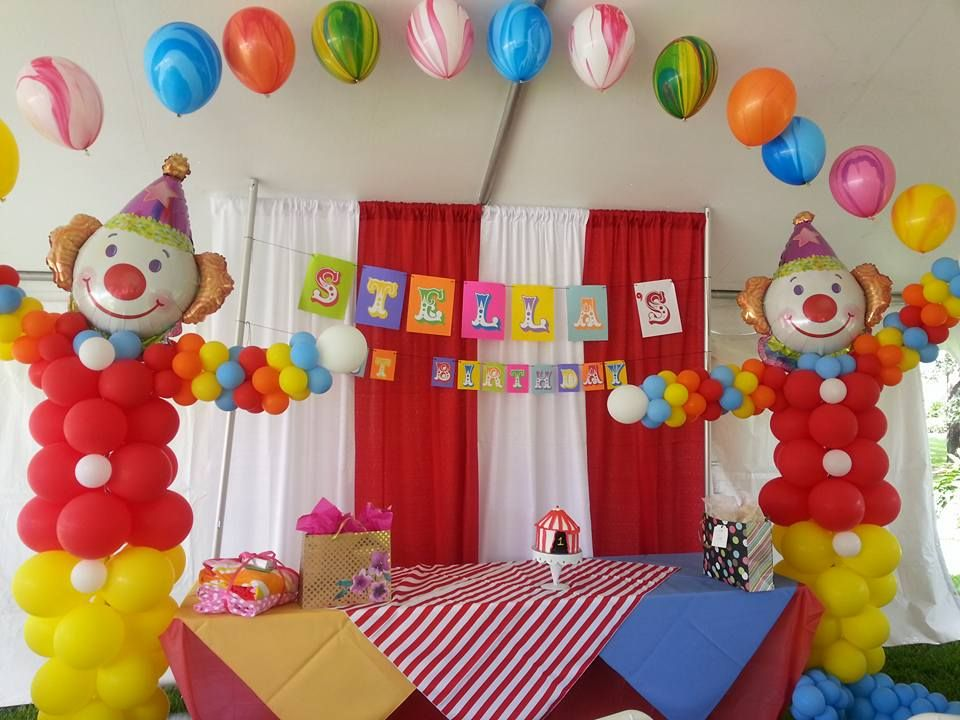 Party People Event Decorating Company Circus Theme First Birthday Winter Haven Florida