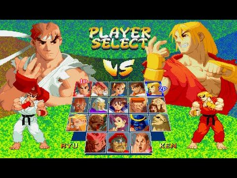 Street Fighter Alpha 2 Player Select Vs Sega Genesis Remix In 2020 Street Fighter Characters Street Fighter Alpha Street Fighter