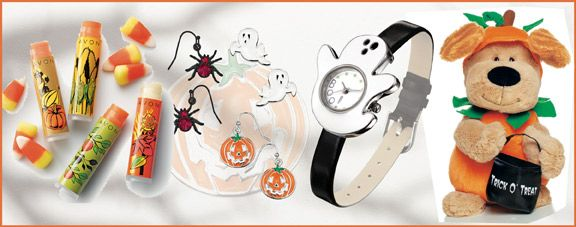 avon halloween earrings