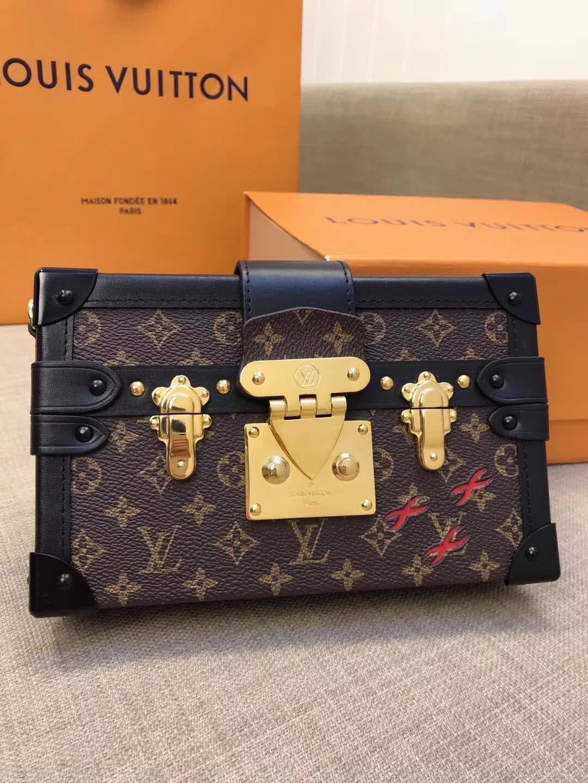 9b1771d562 Louis Vuitton lv petite mella clutch box bag original leather ...