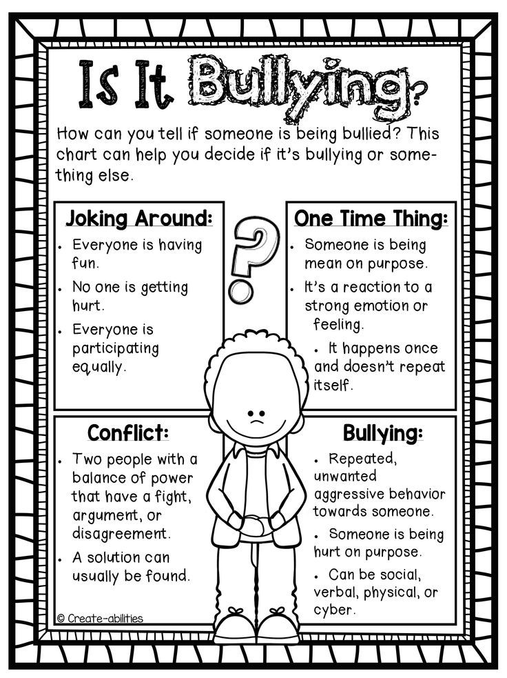 Anti Bullying Printables