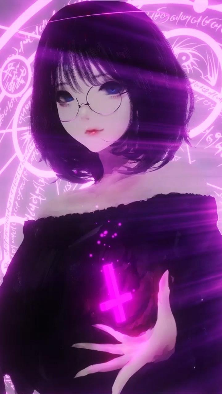 Anime Witch Girl KAWAI