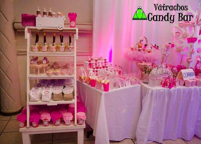 Mesa de dulces rosa para xv a os mesas de dulces en 2019 for Mesa de dulces para xv anos