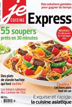 Express je cuisine pratico pratique magazine - Livre de cuisine asiatique ...