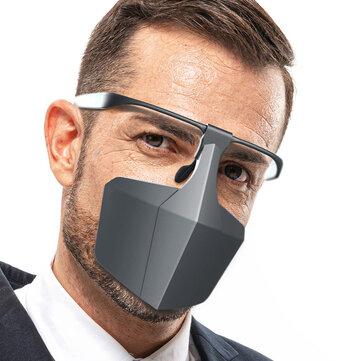 Face Shield Reusable Protection Cover Face Mask Splash Resistant Plastic Glasses