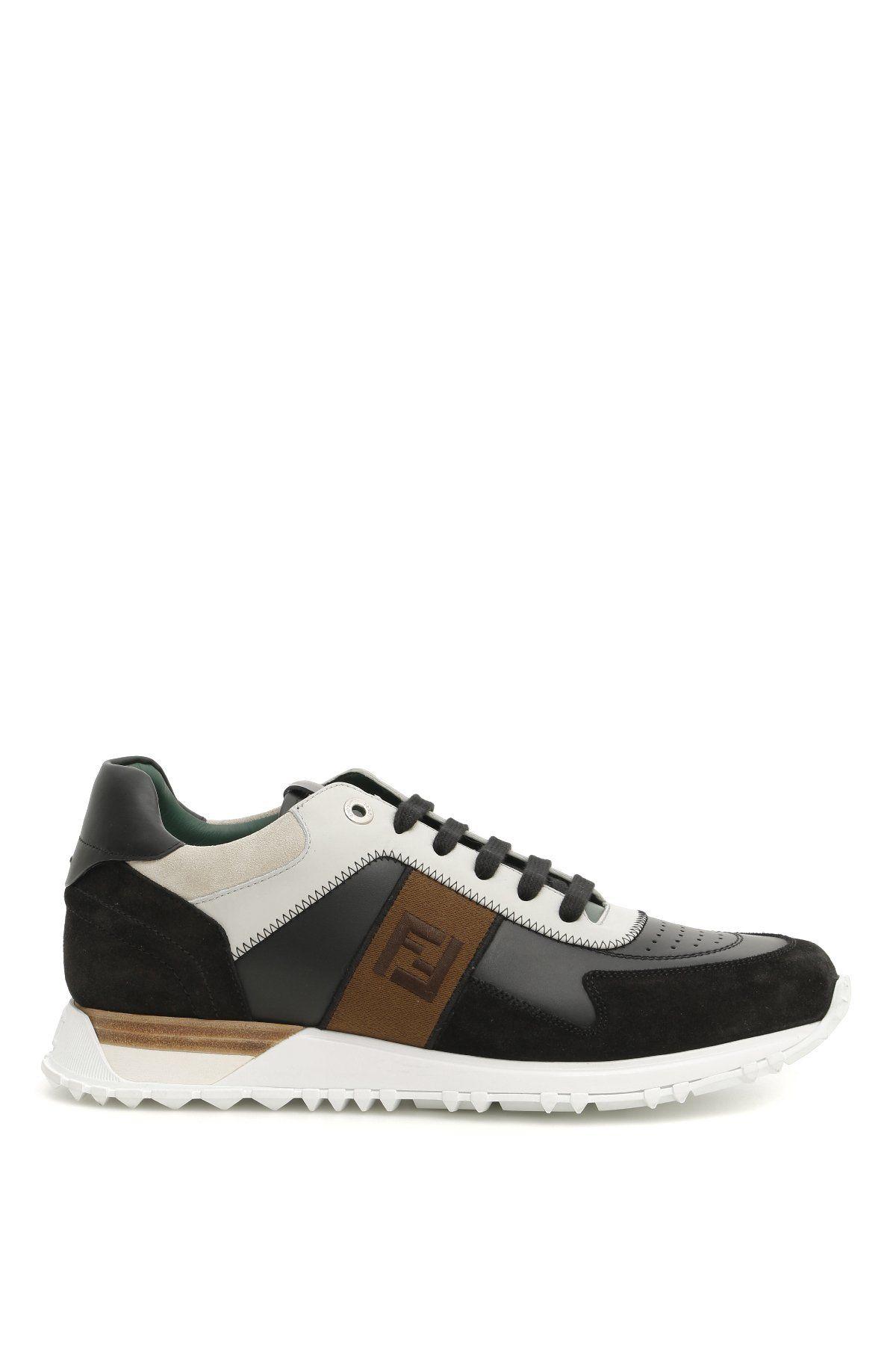 4c923d57b7d FENDI FENDI FF LOGO SNEAKERS.  fendi  shoes