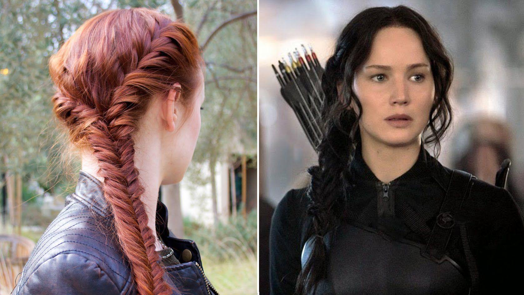 hair tutorial katniss'