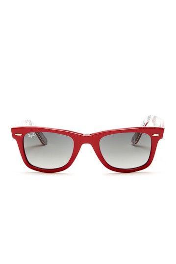 Ray Ban Unisex Wayfarer Style Plastic Sunglasses by NYWD on @HauteLook