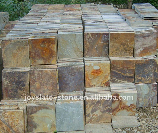 Slate Tile Exterior Wall And Floor Applications Natural Exterior