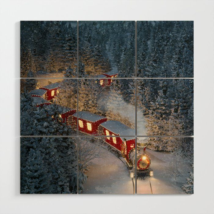Christmas Night - Amazing Cute Christmas Train Goe