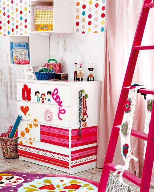 Transformar una cómoda para la habitación juvenil | Cómoda, Cómodas ...